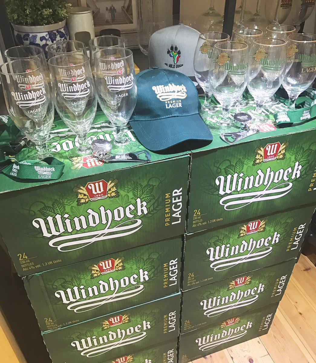 As far as deliveries go, it doesnt get much better than this!! 🍻👌🏽 A huge thank you to @Windhoekbeer_UK the Official Beer of the SA Wild Dogs for sorting the boys out with a few beers for our upcoming tournaments!! 🔥🔥🔥 #purebeer #windhoek