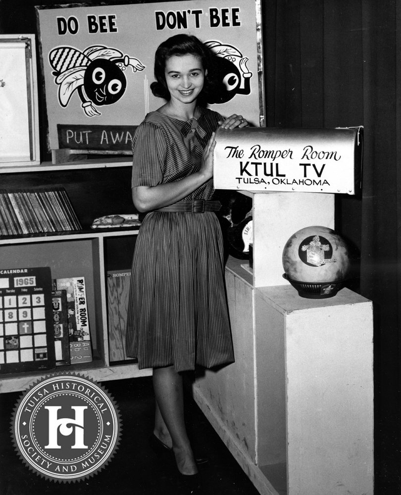 Tulsa Historical Soc On Twitter Romper Room Was A Franchised