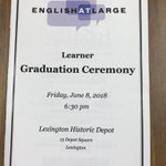 Image for the Tweet beginning: Programs for our Learner Graduation