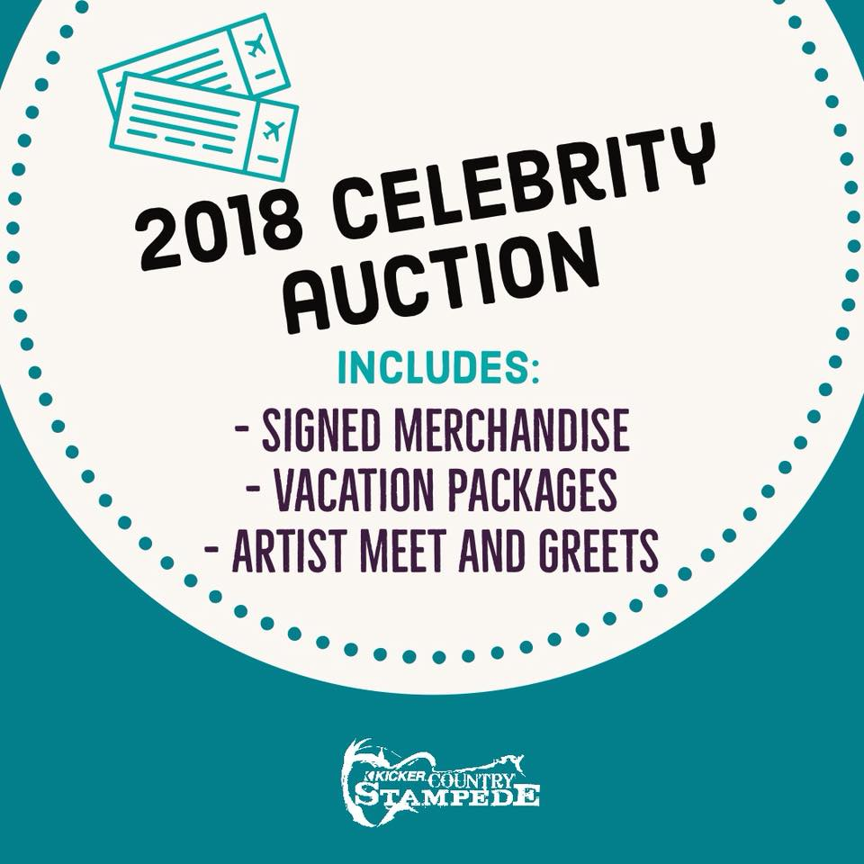 Country stampede on twitter 2018 celebrity auction is in the works 2018 celebrity auction is in the works some prizes this year include singed merchandise vacation packages and meet and greets stay tuned for more prizes m4hsunfo