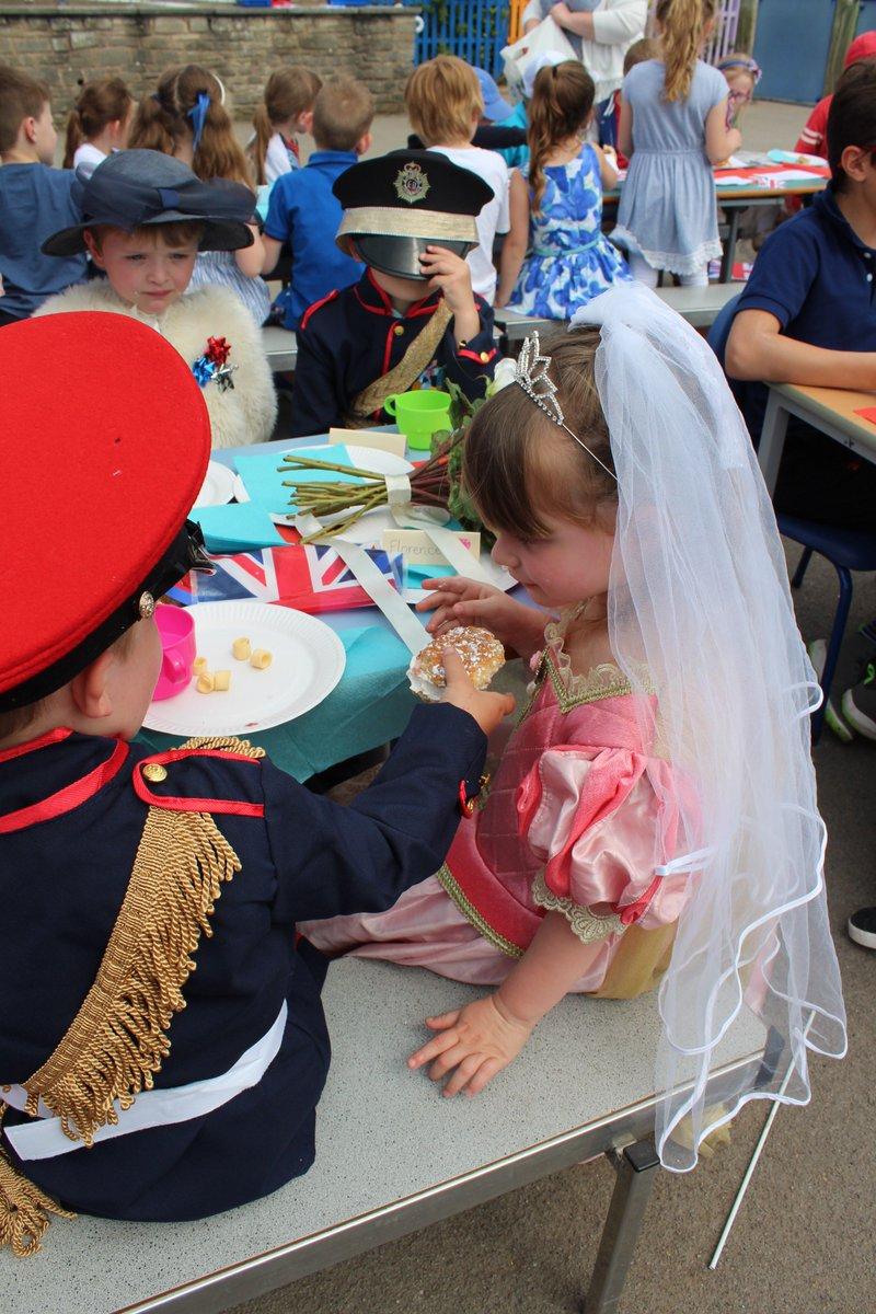 Our Royal Wedding garden party was an amazing success! #RoyalWedding #HarryandMeghan @KensingtonRoyal @RoyalFamily @ClarenceHouse