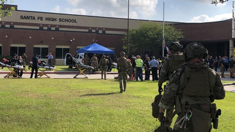 BREAKING: At least 8 people dead in Texas high school shooting, sheriff says https://t.co/YApoPL4jZC https://t.co/5mA2STVX6v