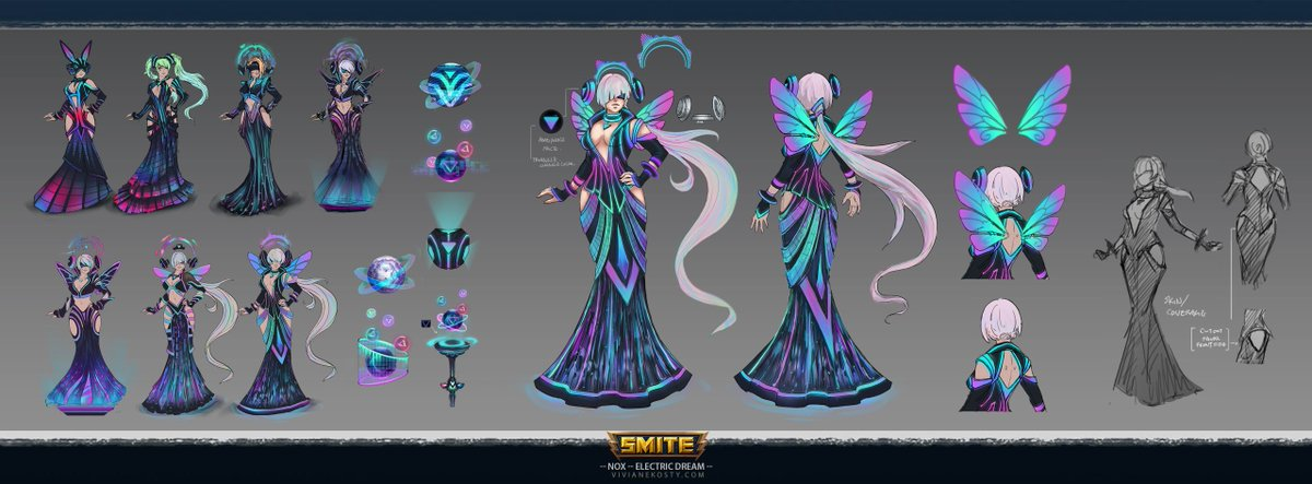 Electric Dream EDM Nox, my main! Not Biased at all. I wanted a lot of things for this skin, because it is the last of the series.  I&#39;m glad that we actually did it.   #dragonsfortune #nox #edm #electronica #electricdream #dj #smite #smitegame #inkybot<br>http://pic.twitter.com/gdB5Vd6jrG
