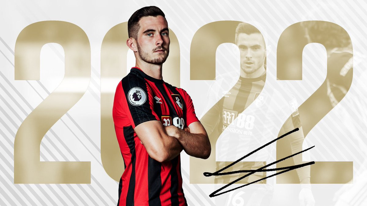 Delighted to have signed a new contract with @afcbournemouth Looking forward to the future ahead 🍒⚽️