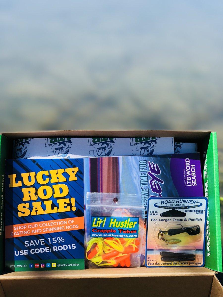 Lucky Tackle Box على تويتر: