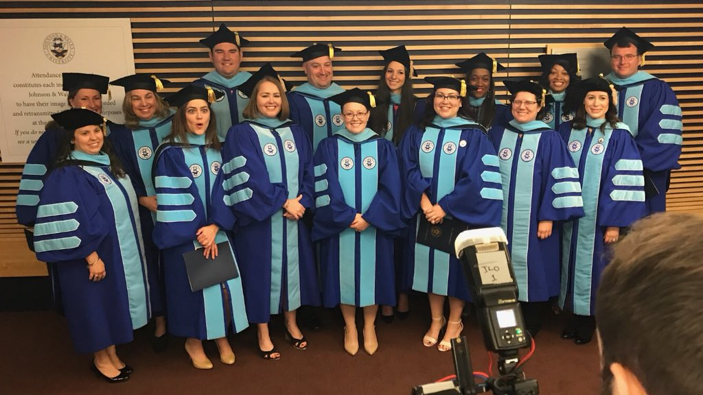 This morning we recognized 17 graduates who have attained the highest educational degree possible - a doctor of education in educational leadership. They join 329 JWU doctoral graduates who have achieved this level of excellence over the past 20 years.
