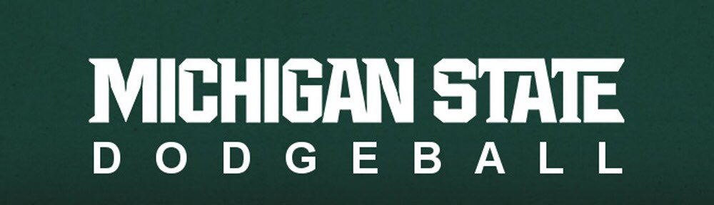 Extremely excited and blessed to announce that I will be transferring to Michigan State University to play collegiate dodgeball, thank you to everyone who supported me on this journey #GoGreen<br>http://pic.twitter.com/JYetF9tPxK