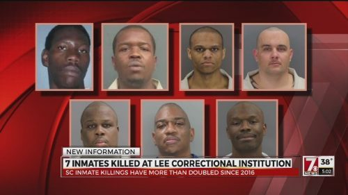 Prisoners File Lawsuit After Surviving Deadly Riot at Lee Correctional Institution  https:// prisonrideshare.org/prisoners-file -lawsuit-deadly-riot-lee-correctional-institution/ &nbsp; … <br>http://pic.twitter.com/gdmc92W70A