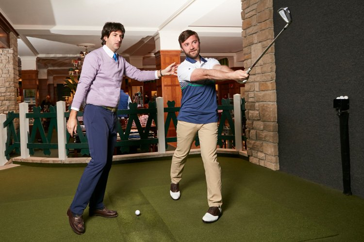 """Have you tried our in-store golf simulator at 346 Madison yet"""" Make an appointment today: https://t.co/DrokQGe2Uz https://t.co/nK5IdhSoDj"""