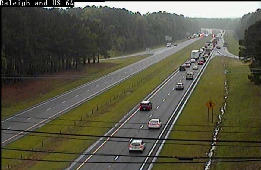 Cbs 17 On Twitter Traffic Alert Eastbound U S 64 Is Closed In