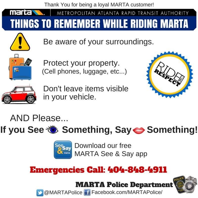 MARTA Police on Twitter: