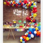"2,330 Likes, 33 Comments - Decor&Festa • Mari Mangione (@decorefesta) on Instagram: ""Show da Luna ♥️ por  @cachodefestas ? decoração linda!! . . #decorefesta #blogdecorefesta…"" This fantastic party idea was featured today on https://t.co/2n0L40LUCS! #partyideas #party #bir…"