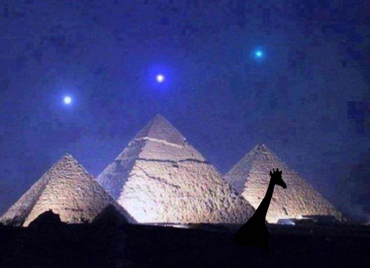 Mercury, Venus and Saturn above the pyramids of Crowborough, East Sussex. This occurs once every 2373 years.