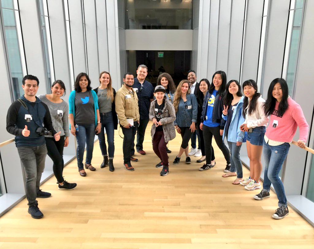 Fill our brains with knowledge #BRIDGEGOOD + #OaklandDigital UX Design Session @TwitterSF #TwitterForGood big thanks to Uma, Alex and Meghan!!! #TWMTDW<br>http://pic.twitter.com/JJNEhyCZKA &ndash; à Twitter HQ