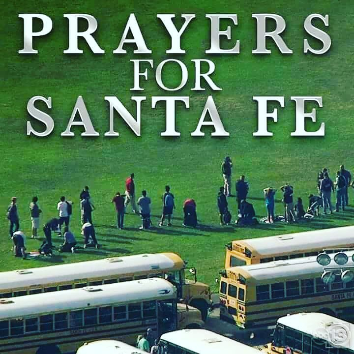 Prayers for there Family&#39;s. Happen so so closed to my house  so sad . #Houstonalllivesmatters #SantaFeHighSchool<br>http://pic.twitter.com/xxilmP0qQf