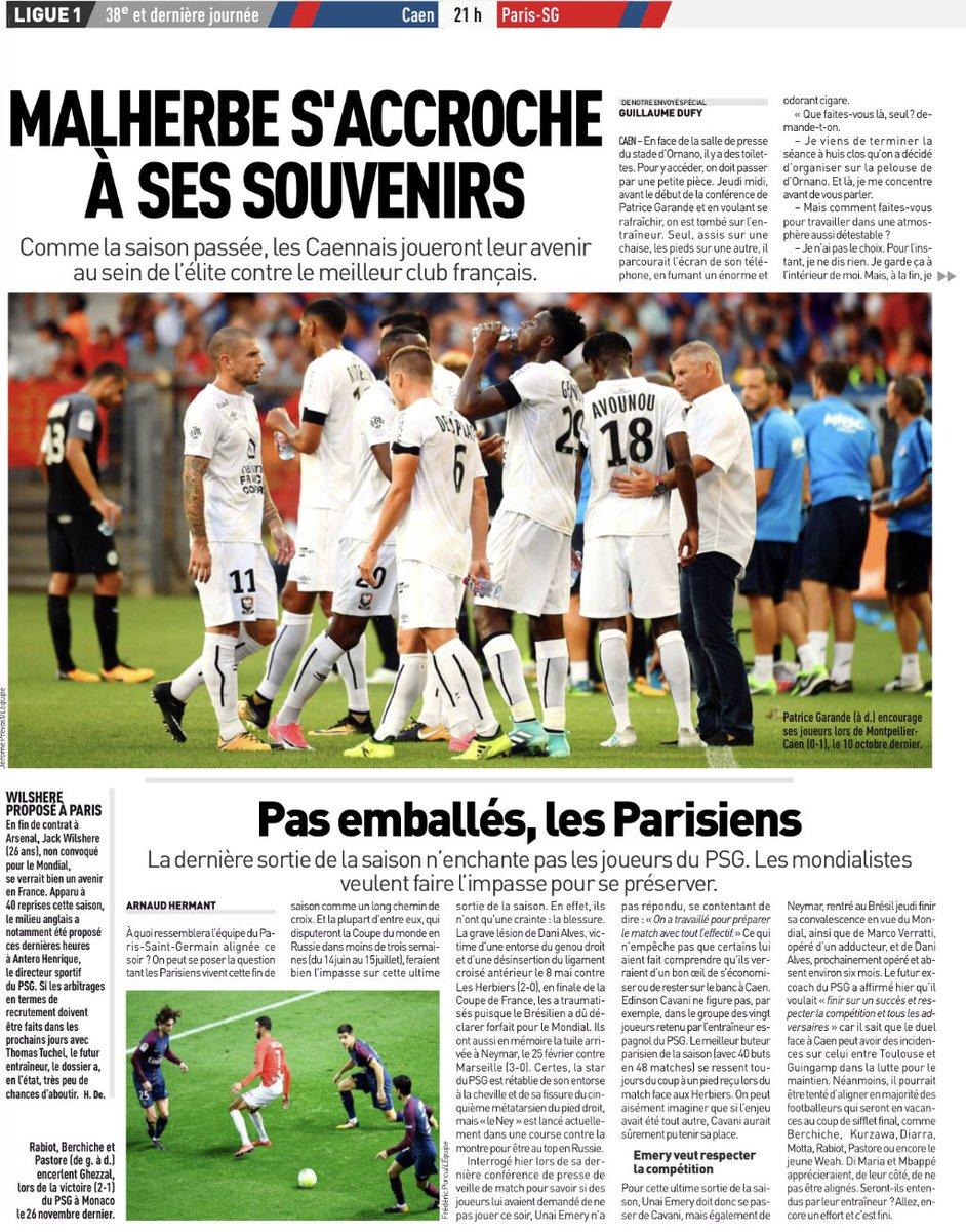 [38e journée de L1] SM Caen 0-0 Paris SG Ddg3M6xWAAEZSGi