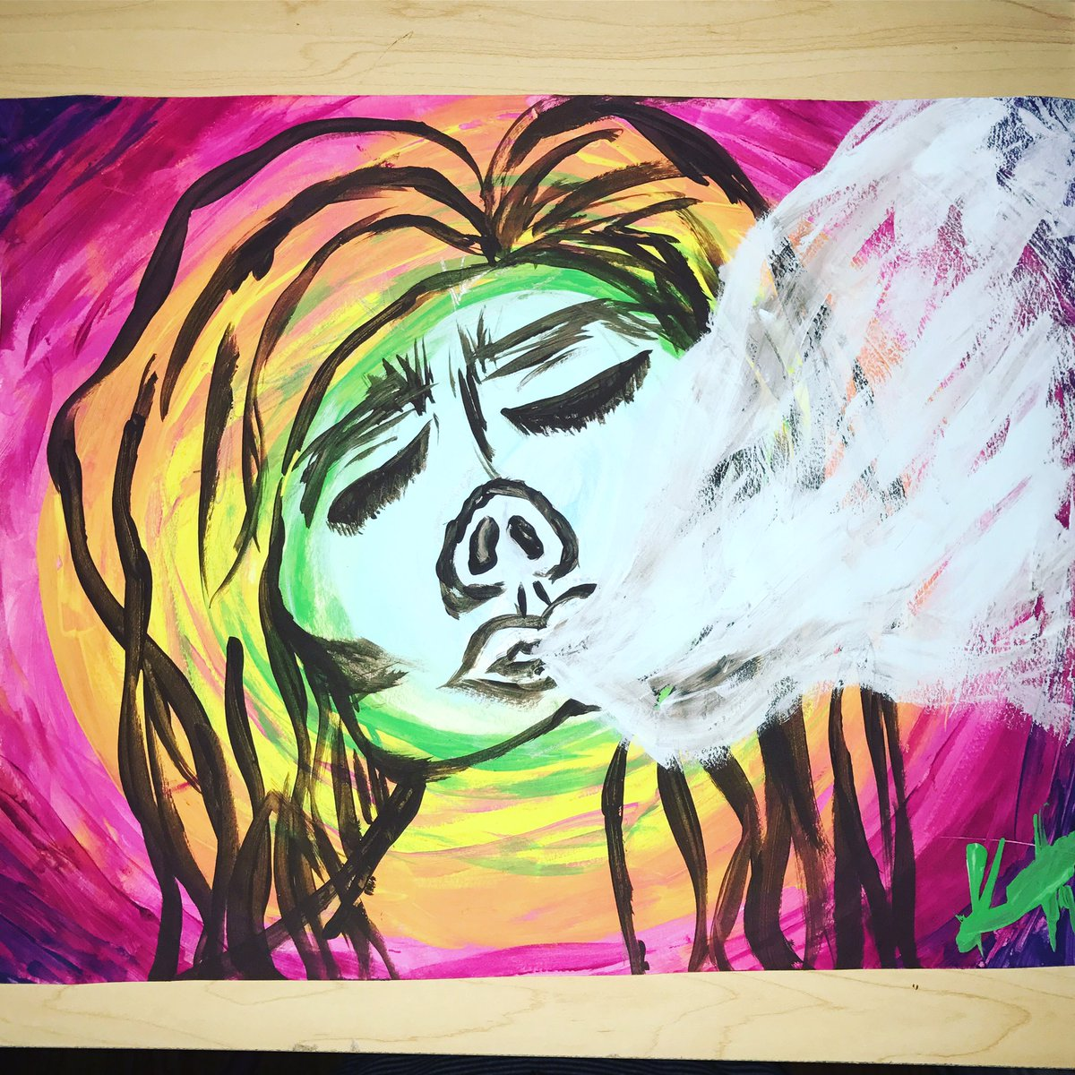 Thank you so much for the beautiful artwork Kayla     http:// Pseudopharm.com/shop  &nbsp;     #art #ArtisticTuesday #FridayFeeIing #FridayMotivation #painting #Laurel #LoveATreeDay #ThankYou #onlineshopping #Motivation<br>http://pic.twitter.com/BhRjNDftIP