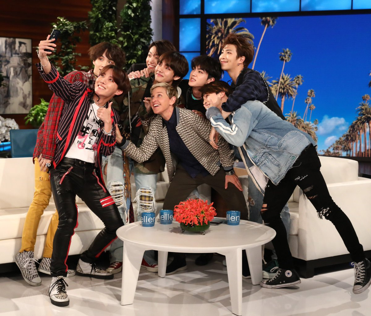 Guess who's here one week from today? @BTS_twt  #BTSxEllen #FakeLove