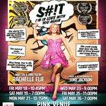 Tonight #shitiminlovewithyouagain opens @OrlandoFringe !!! 10:45 PINK VENUE xoxoxoxo