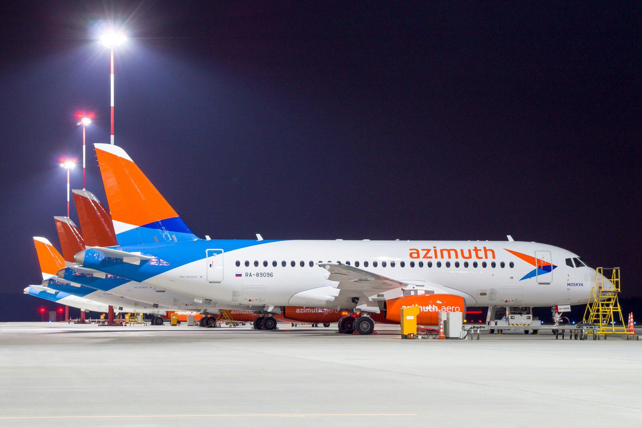 Авиакомпания азимут фото самолеты