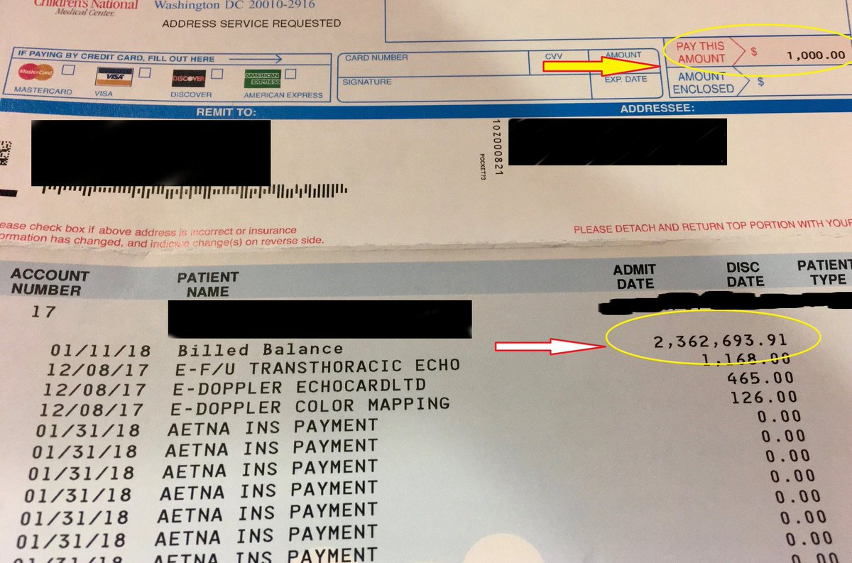 My friends newborn had cardiac issues & needed immediate surgery. She survived, to everyones delight!  The top number is what they paid because they have a job with great insurance.  The bottom one represents their lifetime of crushing debt & bankruptcy if they didnt.