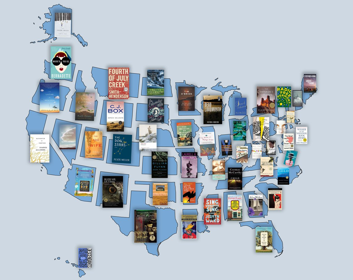 test Twitter Media - School's out.....road trip!  Here's a list of 51 books, one for each state in the United States and the District of Columbia courtesy @nypl https://t.co/nUy3F1asJZ https://t.co/IhV5Wuf5rQ
