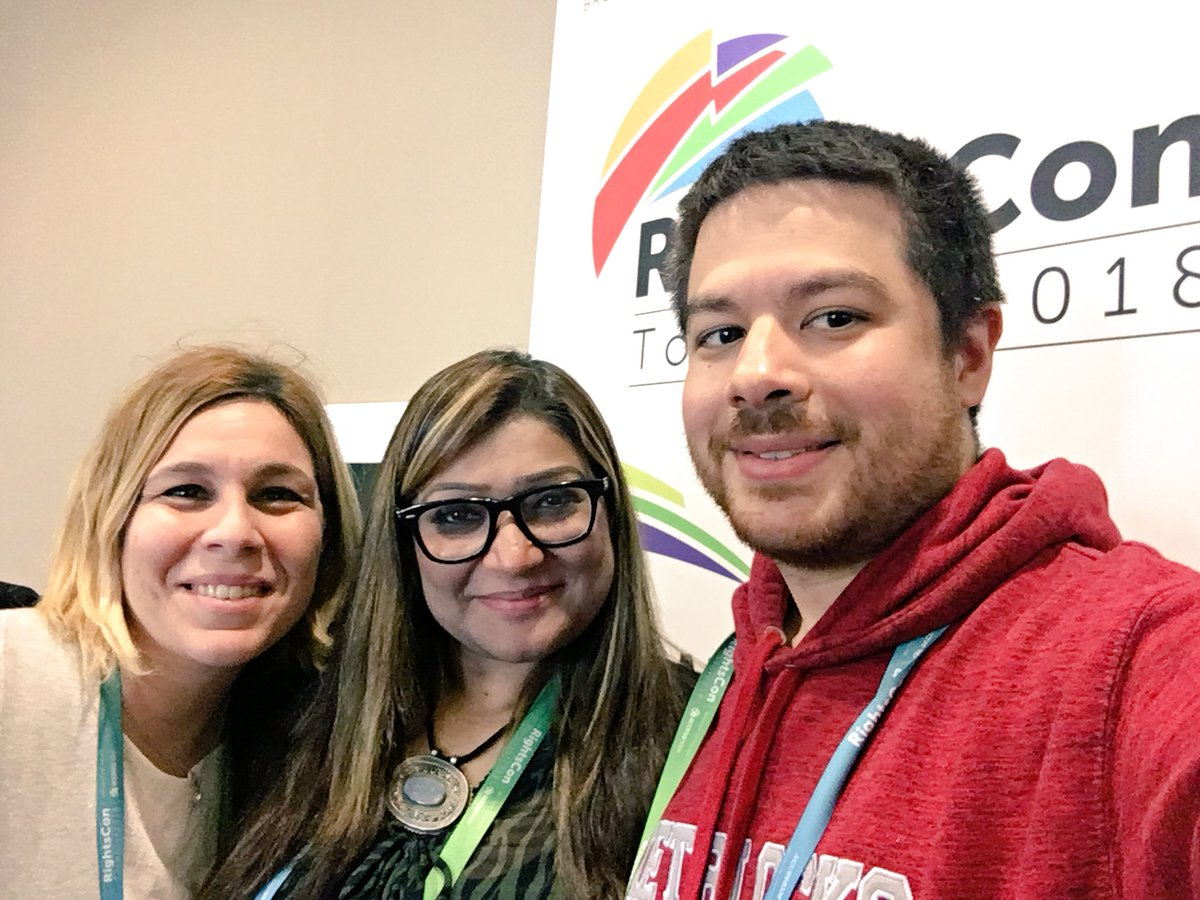 Enjoyed spending time with our inspiring partner and friend @nighatdad from @DigitalRightsPK at #RightsCon this week. Human rights in a digital world can be isolating, but events like these help underscore the importance of the work we do <br>http://pic.twitter.com/k7PlmOpQ8K
