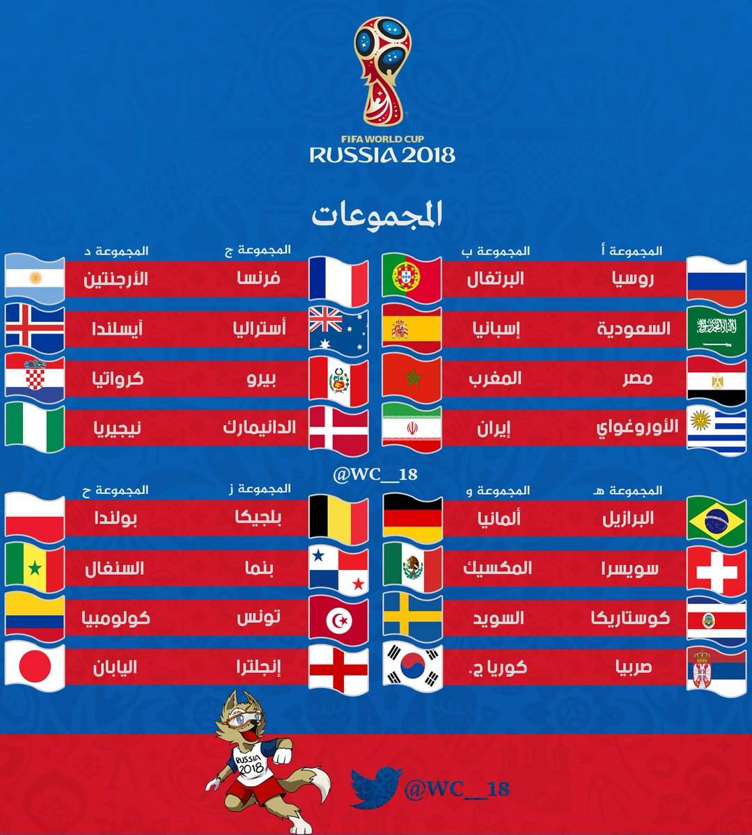 كأس العالم 2018 on Twitter: