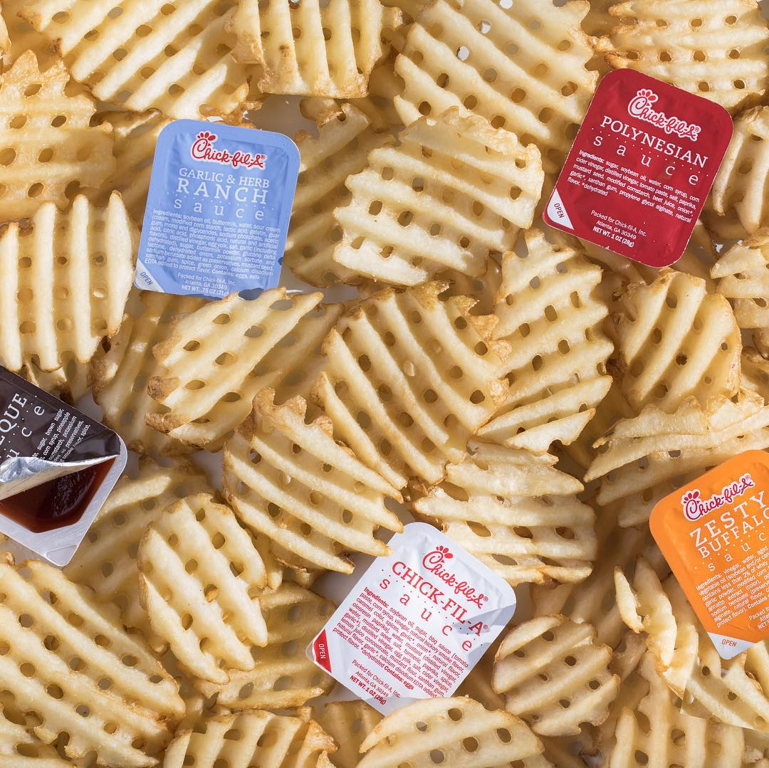 What's going to be your go-to sauce for your Waffle Fries this Fry-day? 🍟 #ChickfilA https://t.co/kDdOvirBcy