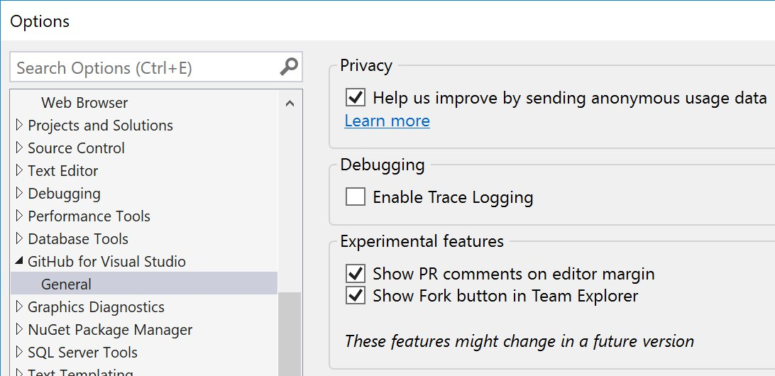 GitHub for Visual Studio on Twitter: