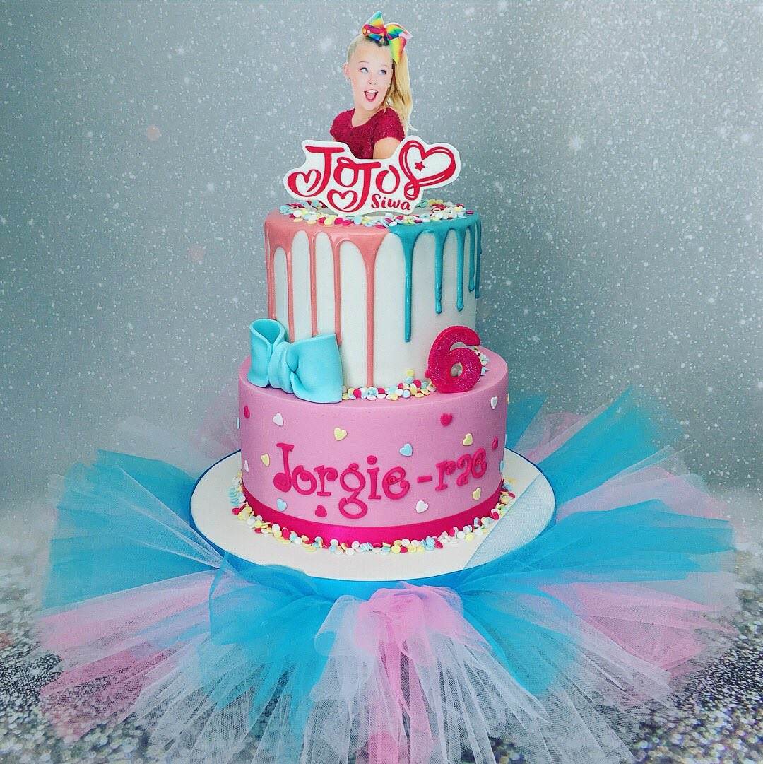 Marias Cake Boutique On Twitter Jojo Siwa Birthday Cake