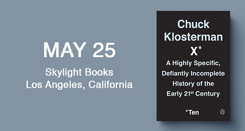 I'll be speaking at Skylight Books in LA at 7:30 pm this Friday. Skeletons welcome.