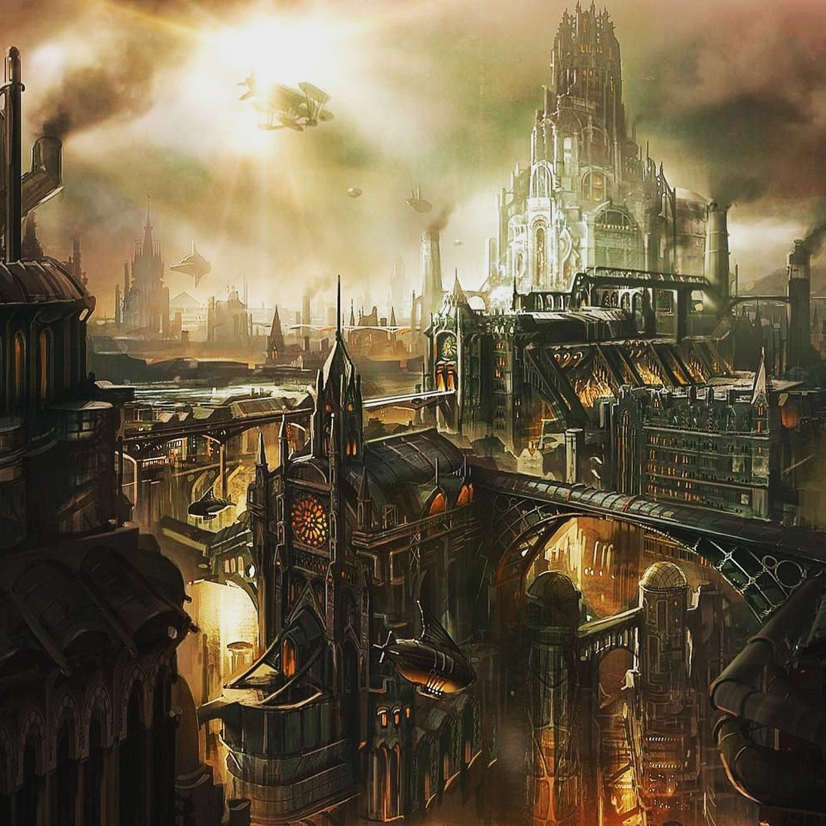 The Seagrave Compound #darkage #TheReckoningTurbines #steampunk
