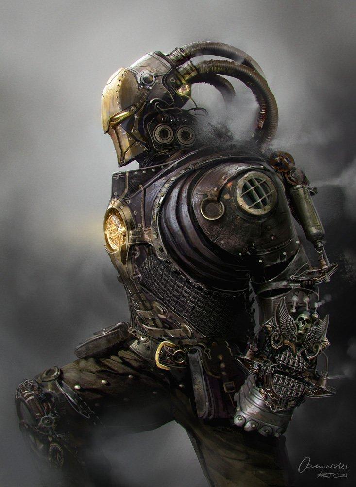 #IronMan #SteamPunk #Marvel