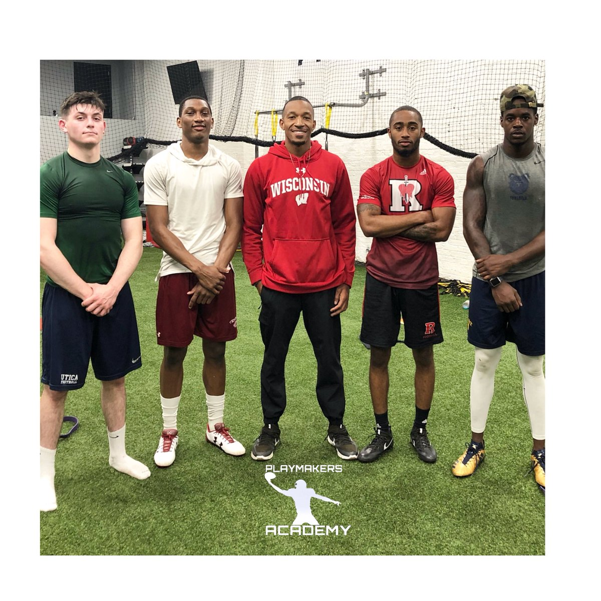 Coming to a collegiate end zone near you.  ⠀⠀⠀⠀⠀⠀⠀⠀⠀ #PLAYMAKERSACADEMY #WRU #PLAYMAKER #athlete #nevergiveup #workout #practice #lifestyle #showtime #time #passion #style #unbreakable #doyourbest #ambition #undefeated #rfootball #TempleTUFF #NCATAggies #FearTheMoose<br>http://pic.twitter.com/r3WU5J47jG