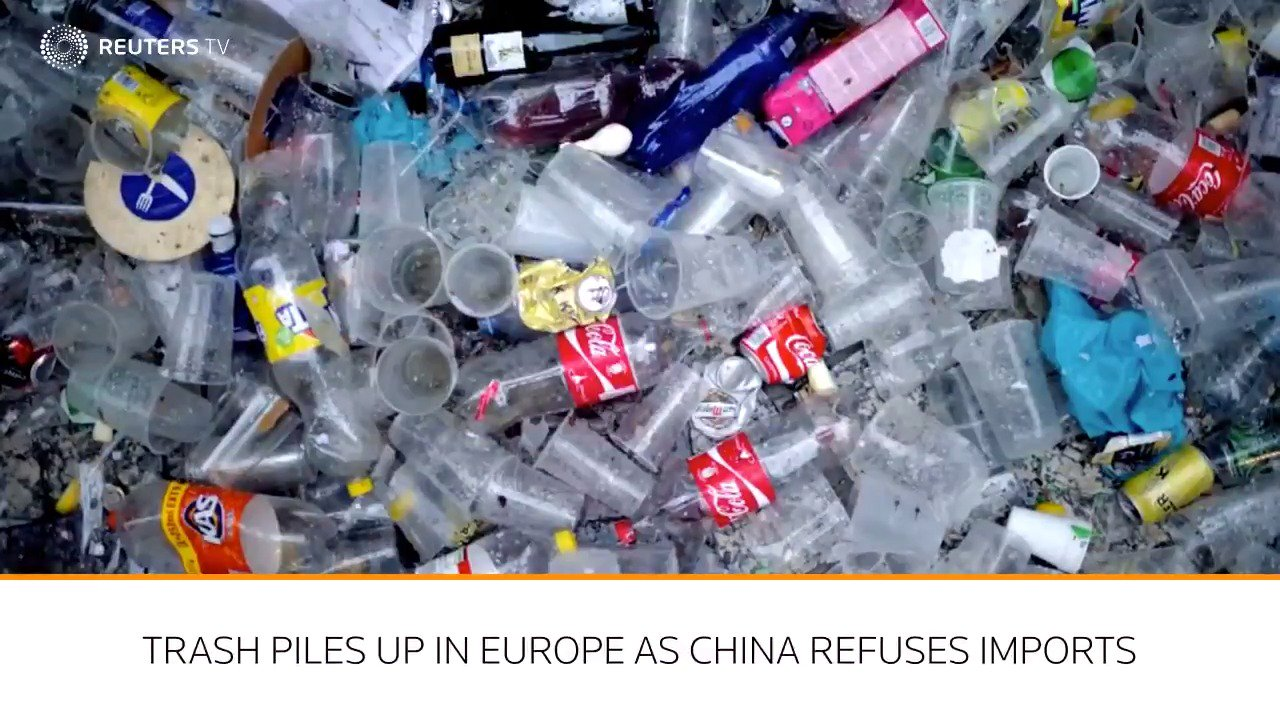 Following an environmental crackdown, China will no longer take Europe's plastic trash https://t.co/ZL0tu0Cx8Q