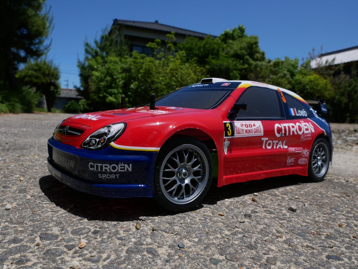 IXO CITROEN XSARA WRC #18 WINNER SANREMO RALLY 2003