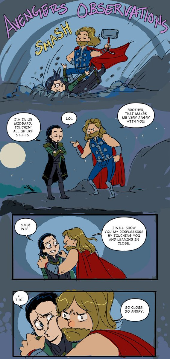 thor and loki comics