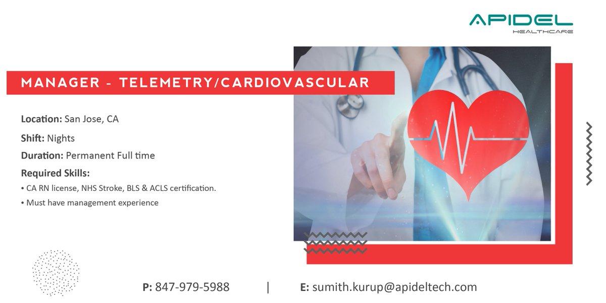 cardiovascularjobs hashtag on Twitter