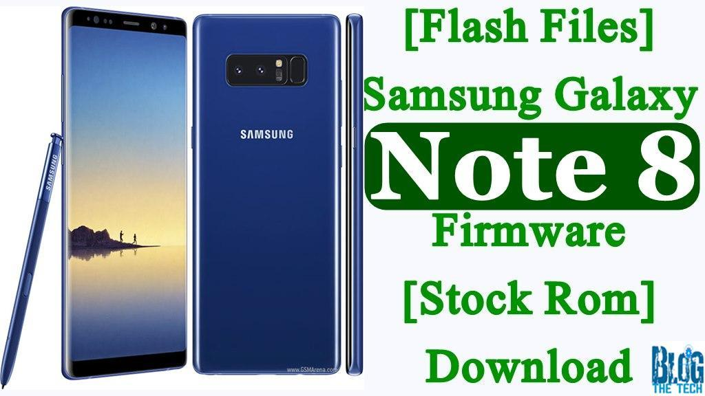 note 8 stock firmware download