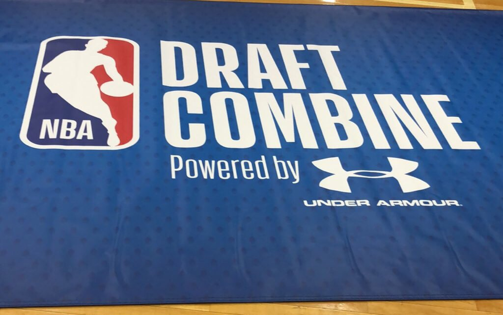 That's a wrap for this year's NBA Draft Combine powered by Under Armour.   Next stop: #NBADraft on June 21st!
