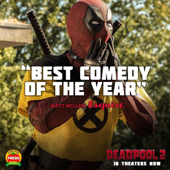 #Deadpool2 Photo