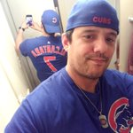 Day 74 of @Cubs #ShirtOfTheDay #BlueIsTheColor #ThatsCub #CubsTalk #EveryBodyIn #GoCubsGo #IamCubsessed #HallerStrong