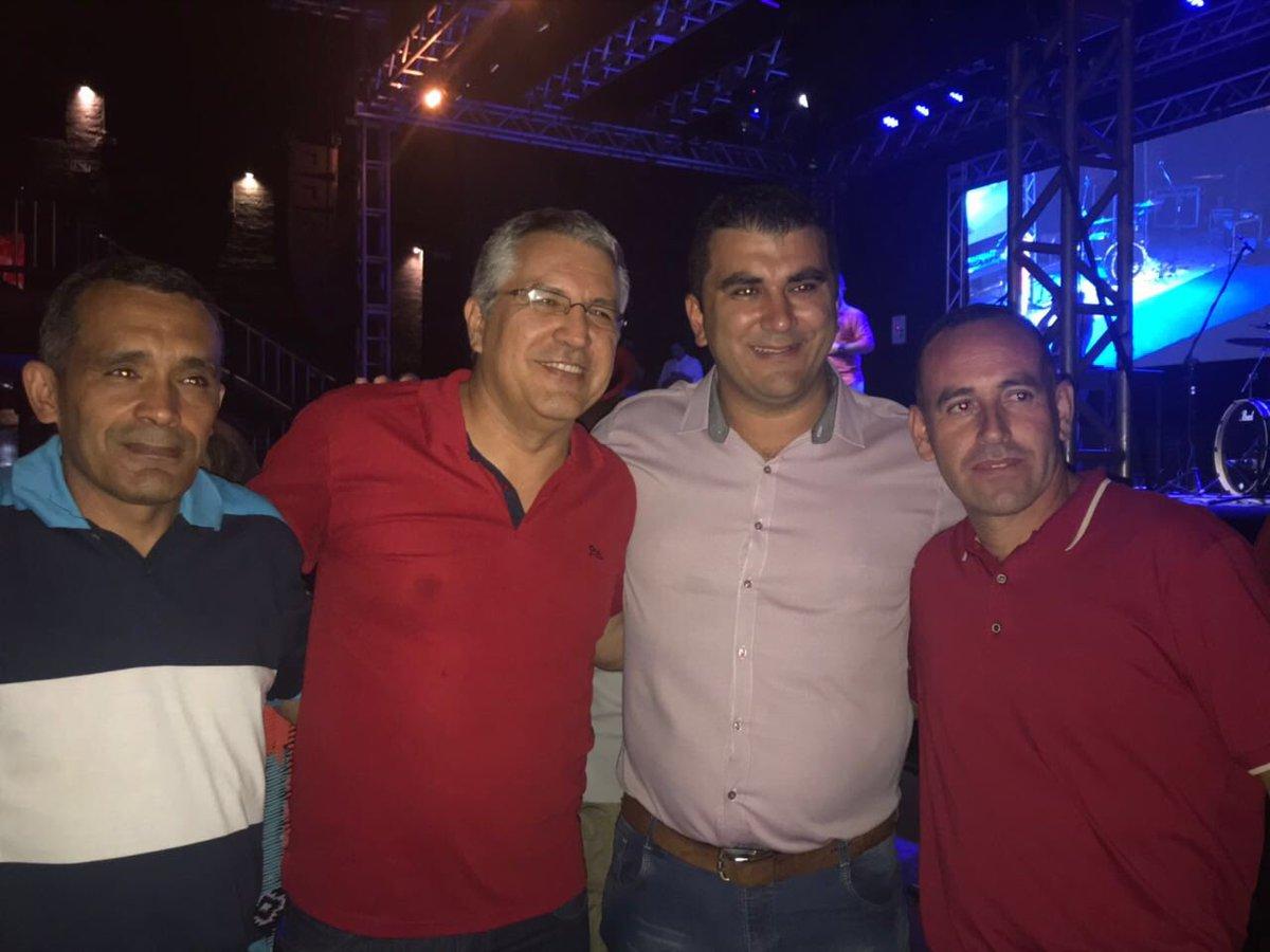 Aniversário do Mário Maurici, ex-prefeito de Franco da Rocha e vice-presidente da EBC, e do Kiko, atual prefeito da cidade. Parabéns, companheiros!