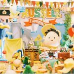 """204 Likes, 2 Comments - Windy MC (@windy_timoranto) on Instagram: """"Russel 1st adventure party @thetruhappiness ? geser ya kak.... #up #thetruhappiness #tabledecor…"""" This fantastic party idea was featured today on https://t.co/2n0L40LUCS! #partyideas #party #birthdayparty #holi…"""