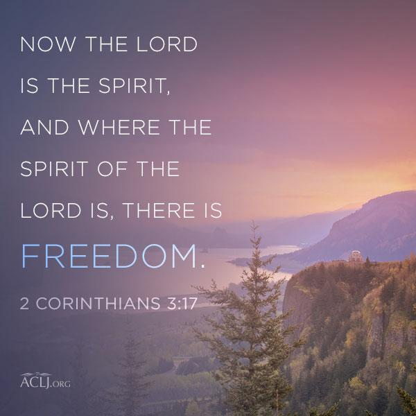 There is true freedom in the Lord. RT if you agree.
