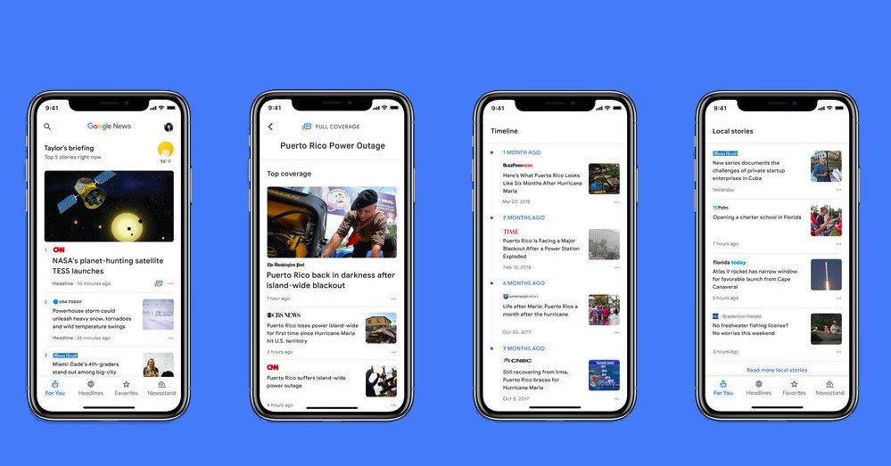 The New Ai Ed Google News Is Now Available On Ios