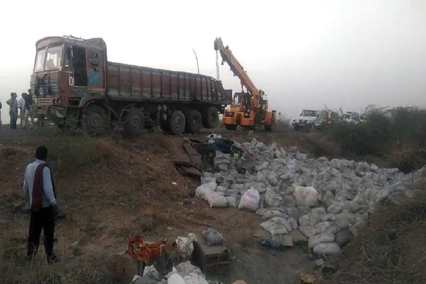 19 die on Bhavnagar highway as truck carrying cement overturns