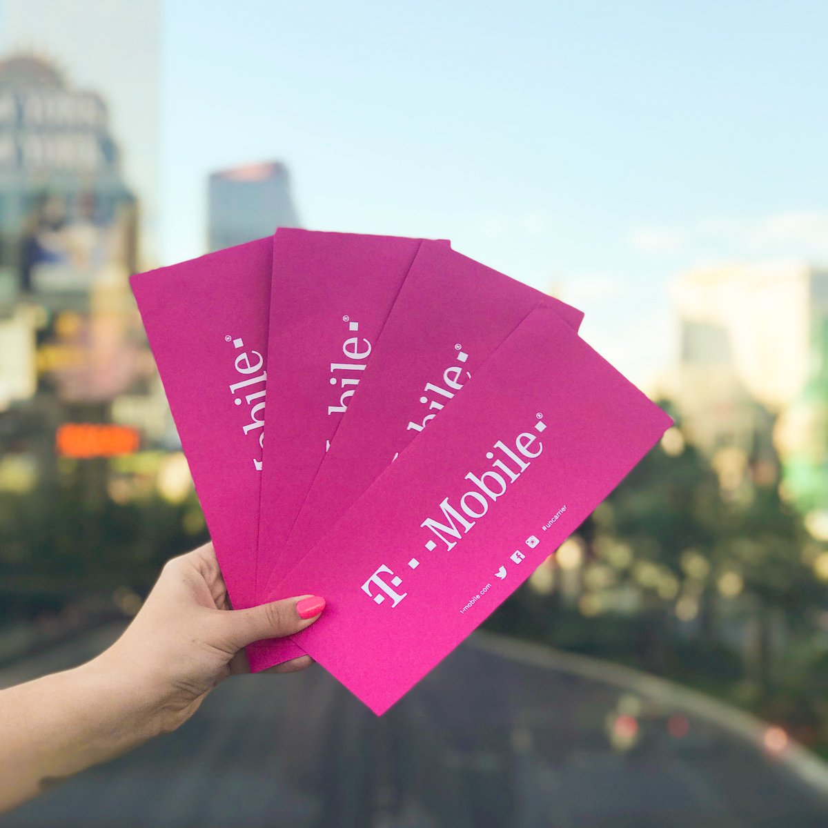 T Mobile On Twitter What Happens In Las Vegas Could Be You At