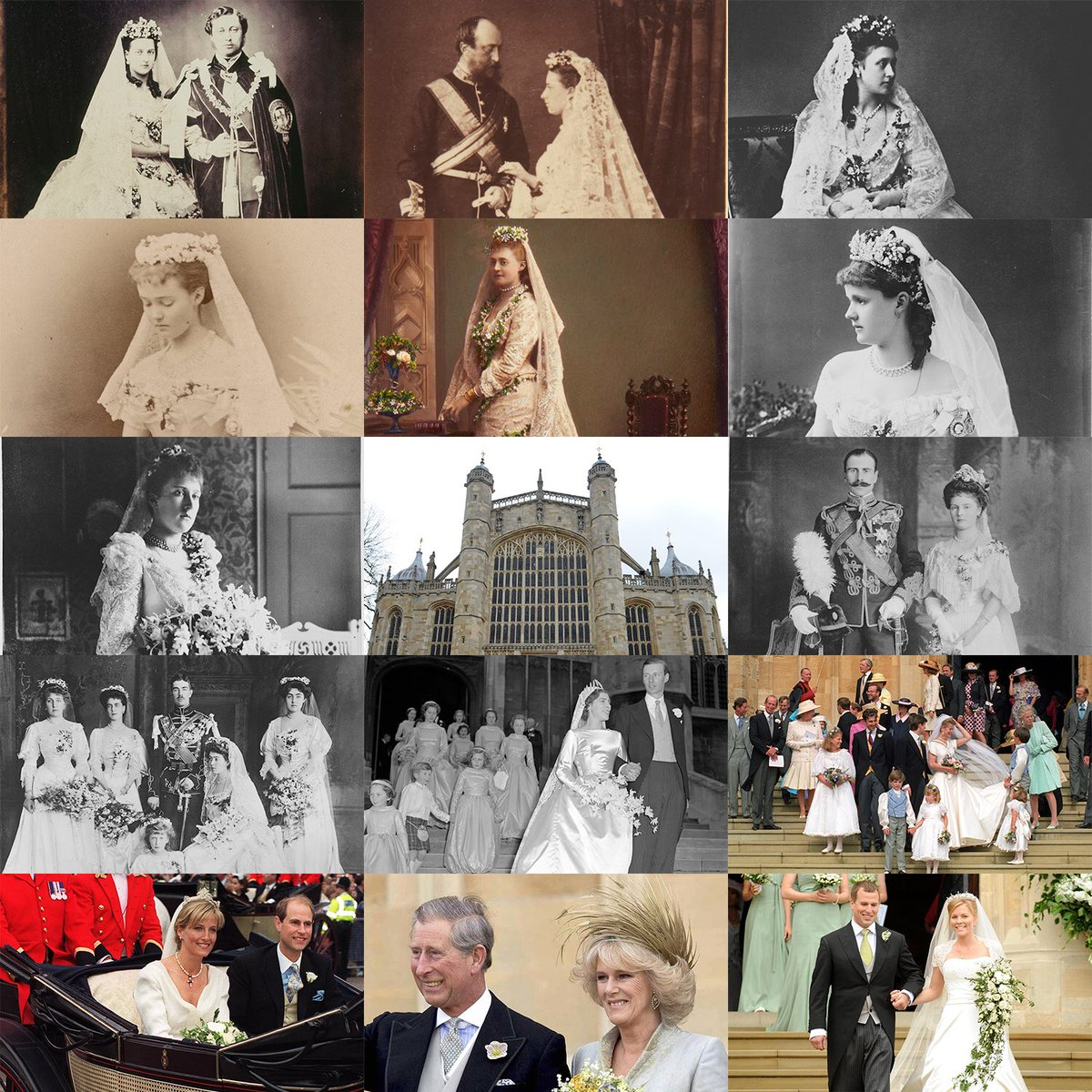 the royal family on twitter today prince harry and ms meghan markle will become the sixteenth royal couple to celebrate their marriage at windsor castle since 1863 find out more https t co 8vkn7jsj4c https t co karoyieue9 prince harry and ms meghan markle